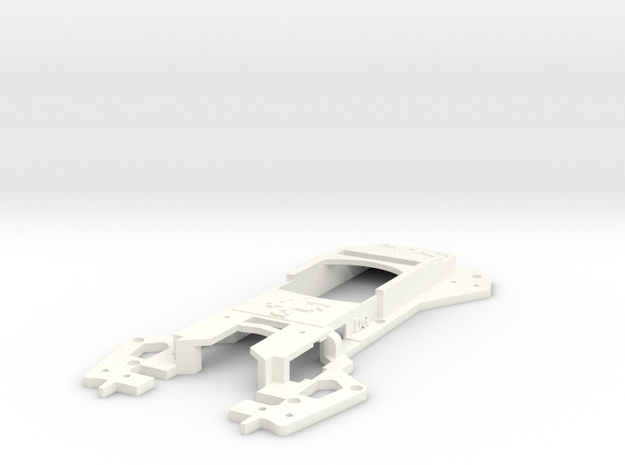 Walkera Runner 250 Advance - Raptor 'Racing' Upper in White Processed Versatile Plastic