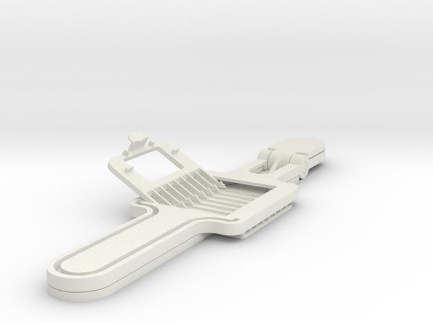 SPLITENDER TRIM ADAPTER in White Natural Versatile Plastic
