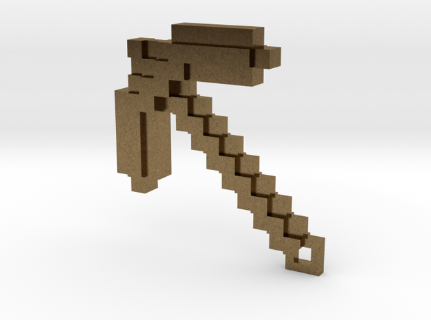 Minecraft - Pickaxe 3d printed