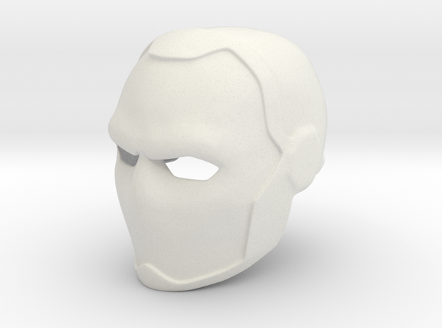 Deathstroke Young Justice Helmet in White Natural Versatile Plastic