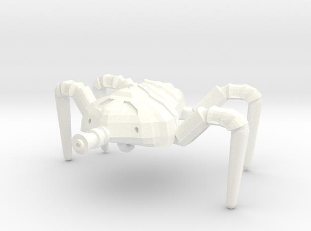 Cusaltreen 'Crab' Walker in White Processed Versatile Plastic
