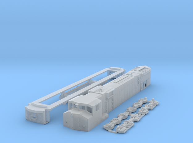 N Scale M630w in Smooth Fine Detail Plastic