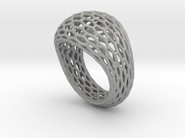 Hexagonal ring size 9