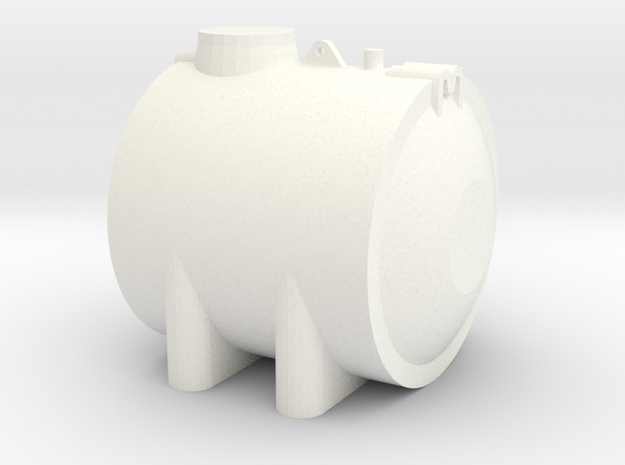 Liquid tank 3k liters in White Strong & Flexible Polished
