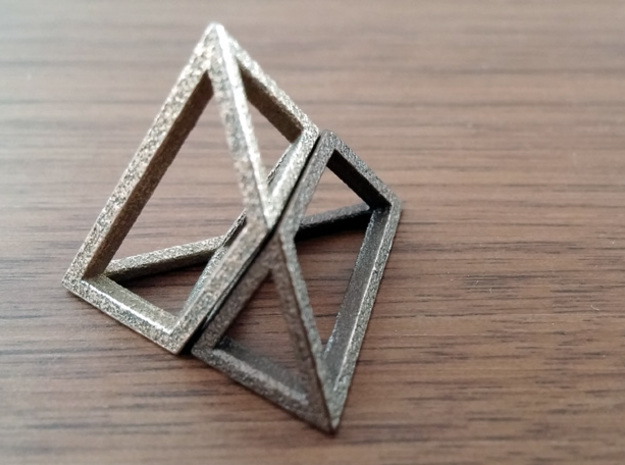 Material Sample - 'Impossible' Pyramid Puzzle Piec