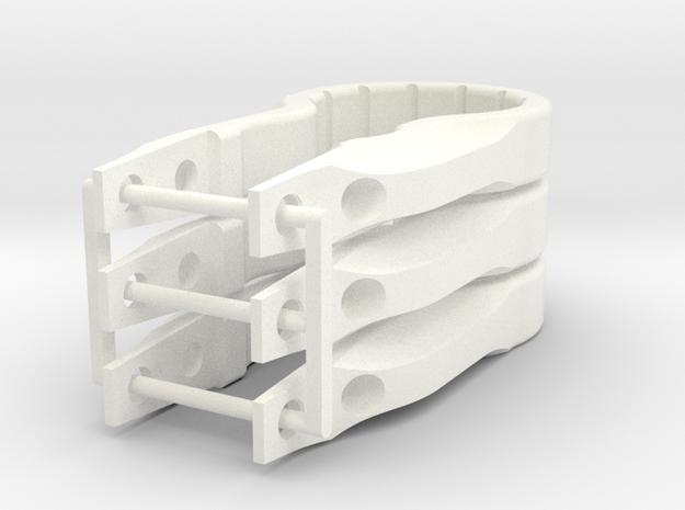 Twizer Pknd 3 pack in White Processed Versatile Plastic