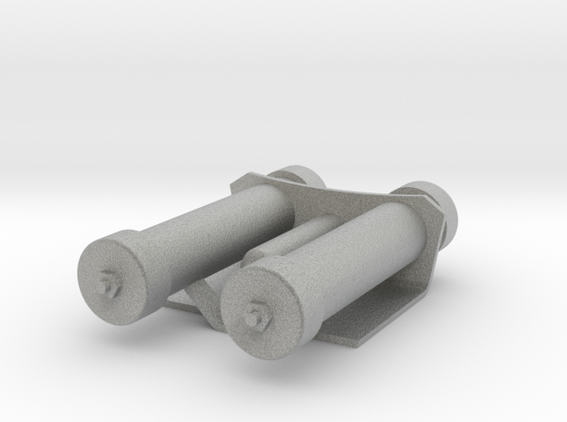 Mag Power Cylinders in Metallic Plastic
