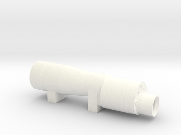 M38a Scope in White Processed Versatile Plastic