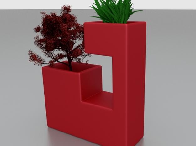 Mini planter 1 3d printed render