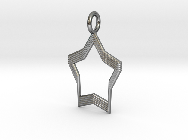 Product4 in Polished Silver