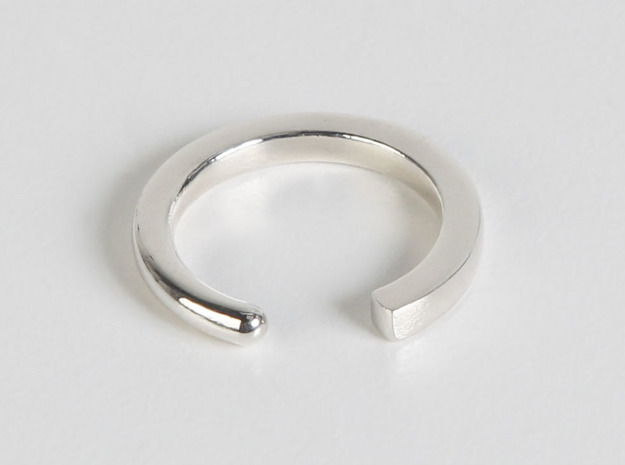 Fable - Size S in Polished Silver
