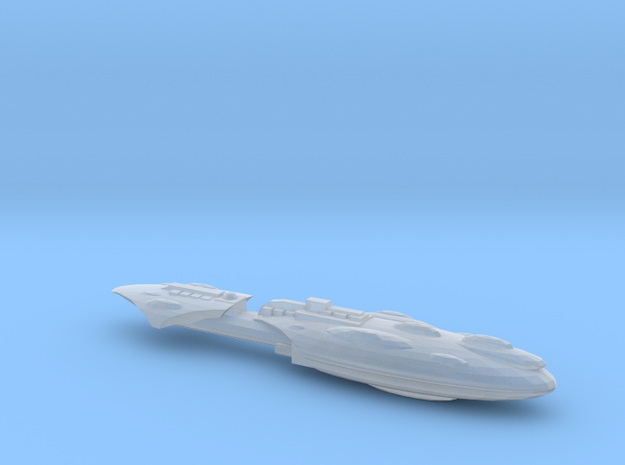 Mon Cal Frigate 1 in Smooth Fine Detail Plastic
