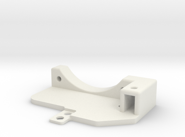 Awesomatix - Cooling Fan Holder (40mm) in White Strong & Flexible