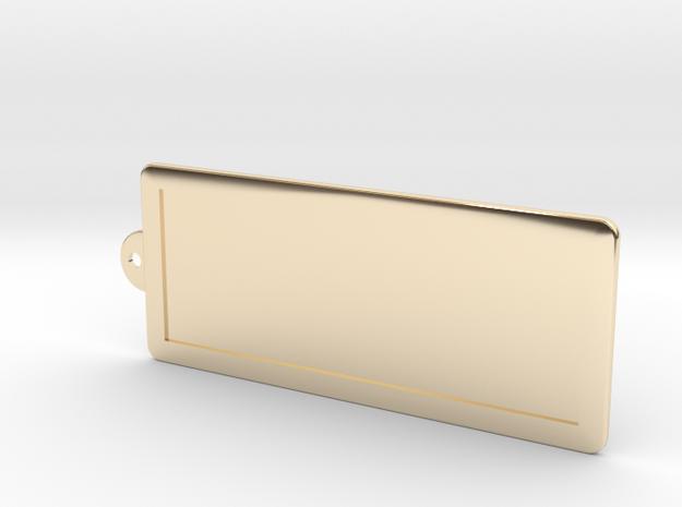 Custom Key Holder in 14K Gold