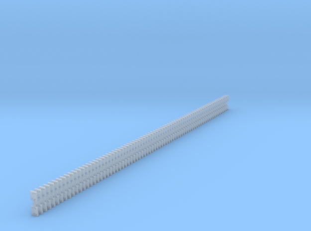 5 Hole Code 100 Tieplate -  150 in Smooth Fine Detail Plastic