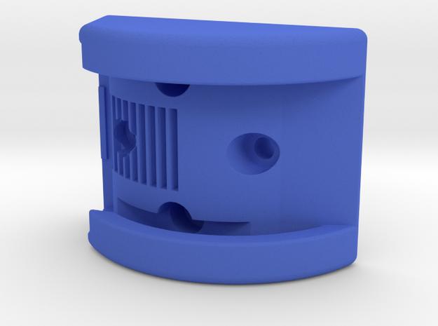 K-Edge Combo Mount NiteRider Pro Interface in Blue Processed Versatile Plastic