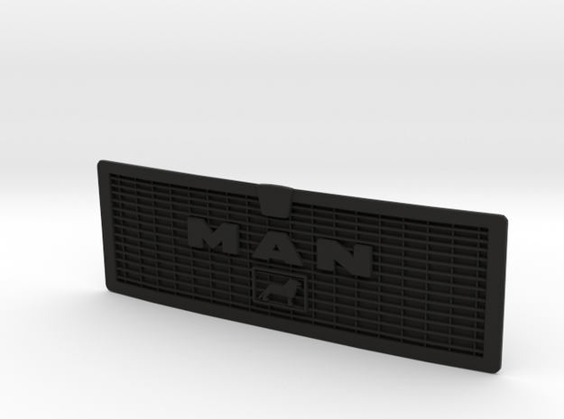 MAN F2000 Silent Grille  in Black Natural Versatile Plastic