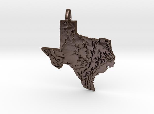 Texas Topography Pendant