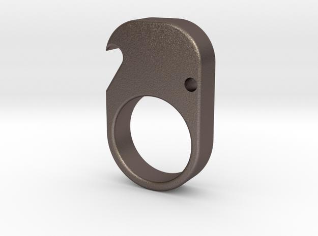 Single- Brass Knuckle Duster -Bottle Opener in Stainless Steel