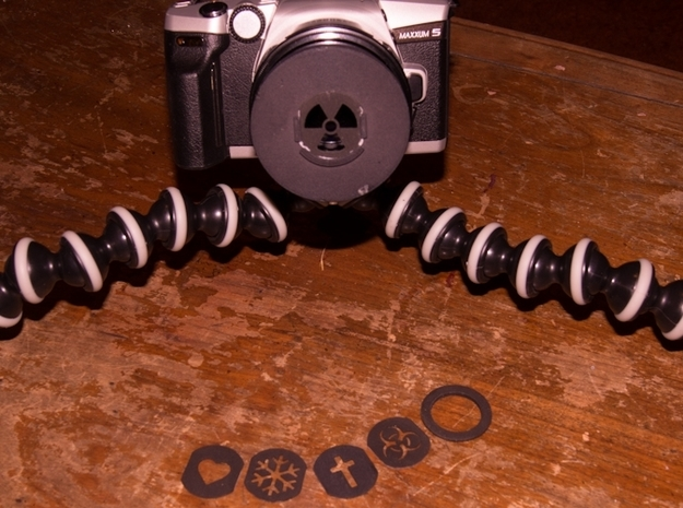 Photography Creative aperture set (fits over 77mm) 3d printed