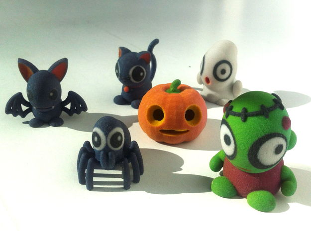 HALLOWEEN COLLECTION in Glossy Full Color Sandstone