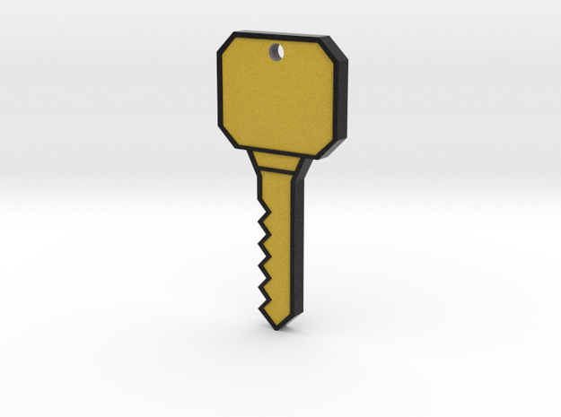 A key! in Full Color Sandstone