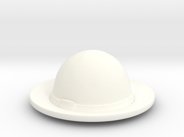 American Civil War T1 in White Processed Versatile Plastic