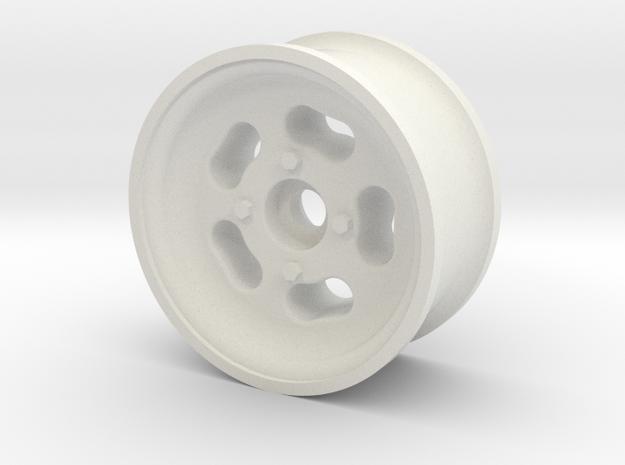 1/10 SCALE 1.9 TRAILER WHEEL MAGS in White Natural Versatile Plastic