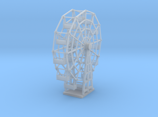 Ferris Wheel - TT Scale in Frosted Ultra Detail