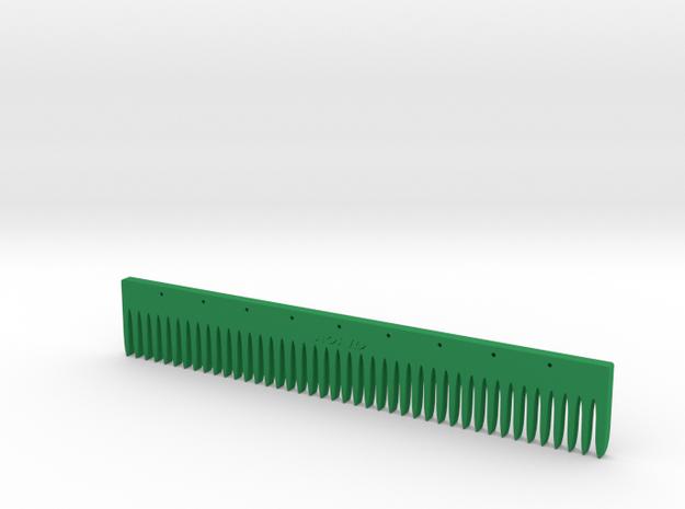 Comb Ruler 3d printed