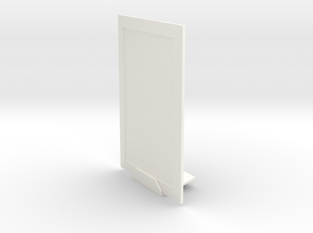 Portrait 3dphoto 4 X 6 Inches in White Processed Versatile Plastic