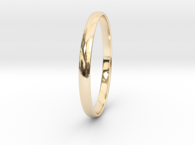 Ring Size 12 Design 3 in 14K Yellow Gold