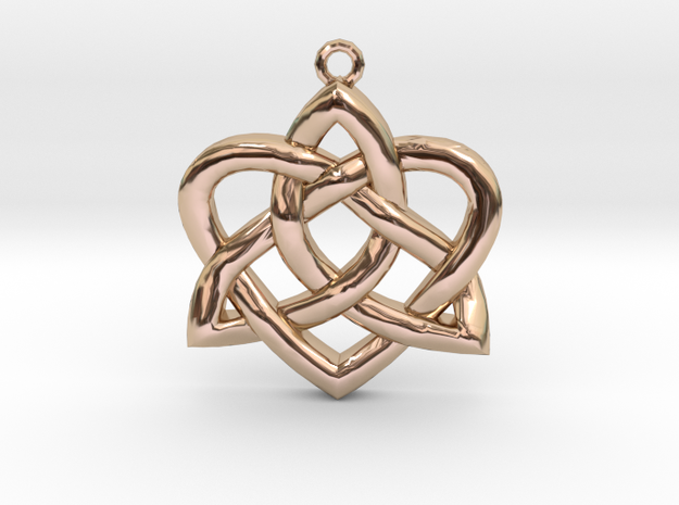 Heart Knot - small 3d printed