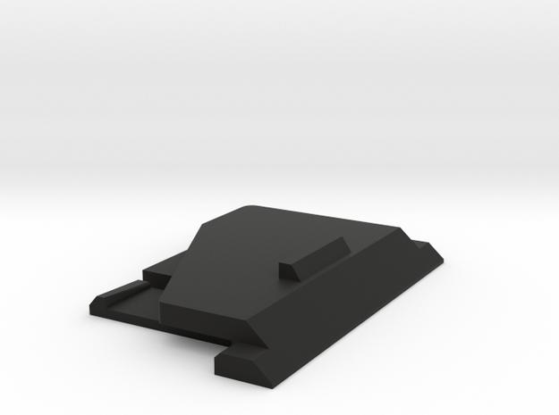 Yamaha KX5 - Battery Cover in Black Natural Versatile Plastic