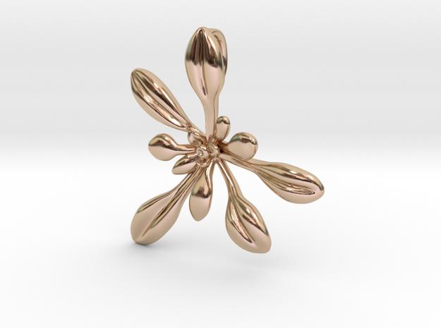 Large Arabidopsis Rosette pendant