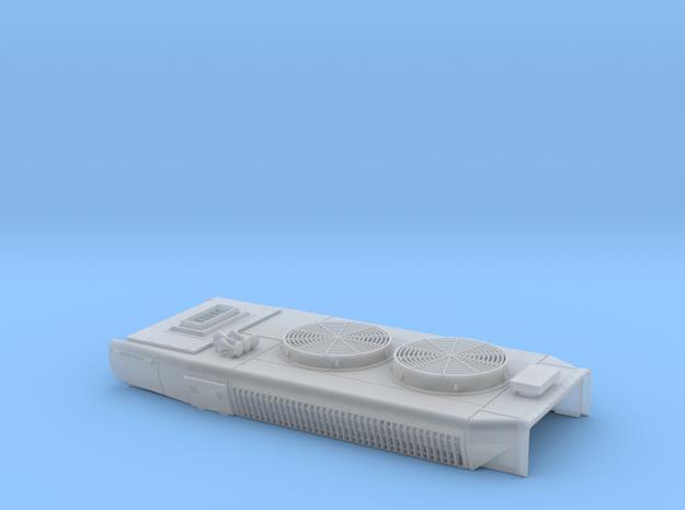 DB0005 SD40-2W DB Mxd Fans, Low Stk, Rblt 1/87.1 in Smoothest Fine Detail Plastic