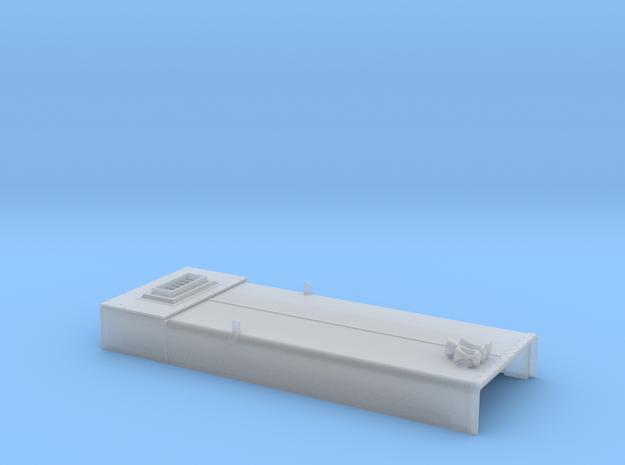 DB0009 SD40-2W ERH, Low Stk, Rblt 1/87.1 in Smoothest Fine Detail Plastic