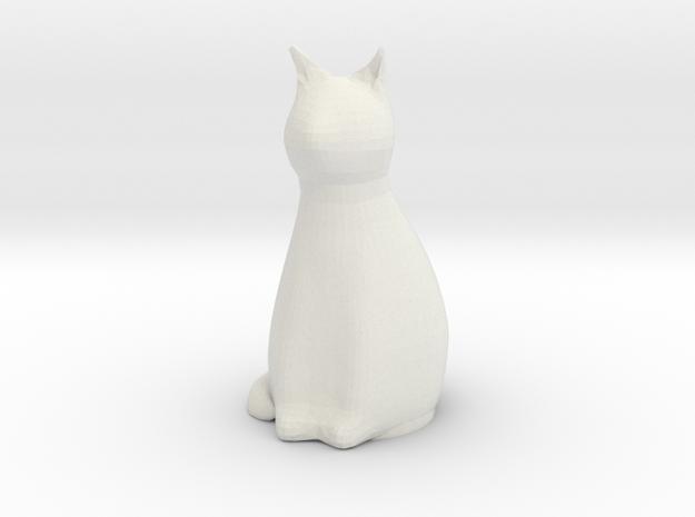 Cat / Katze - Anhängerkupplung in White Strong & Flexible