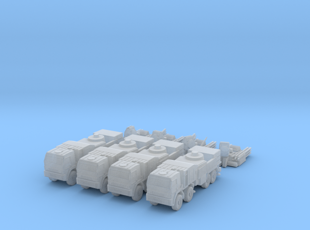S1 Pantsir SA-22 Battery 6mm in Smooth Fine Detail Plastic