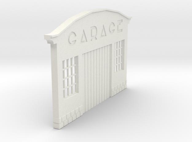 Z-1-55-garage-1 in White Natural Versatile Plastic