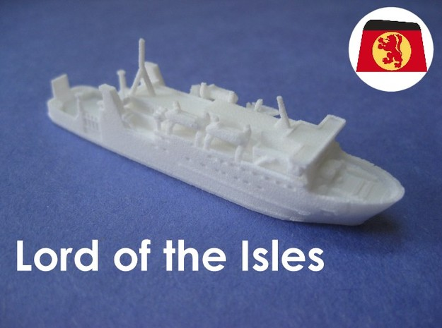 MV Lord of the Isles (1:1200)