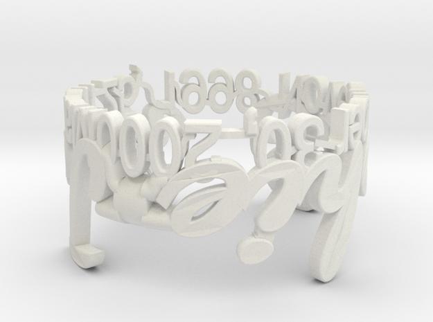 Model-75a5ece2b7f441504173d5a496578e05 in White Natural Versatile Plastic
