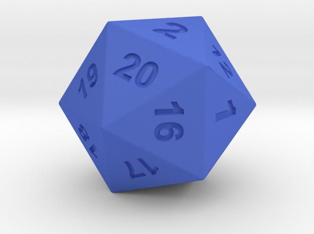 TwentySided in Blue Processed Versatile Plastic
