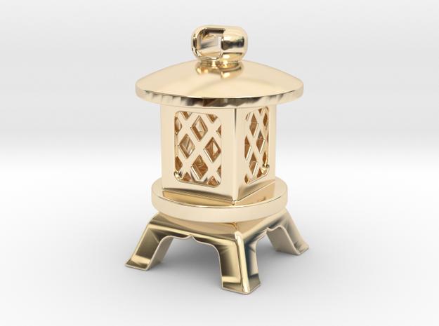Japanese Stone Lantern A: Tritium (All Materials)