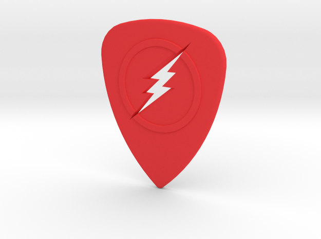 The Flash Pick in Red Strong & Flexible Polished