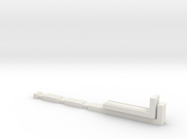 NTrak-Lay in White Natural Versatile Plastic
