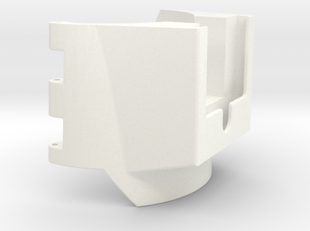 Gauntlet-Body-Part-3-of-4-STL-File in White Strong & Flexible Polished