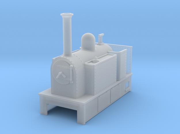 O9 side tank tram loco #1 3d printed