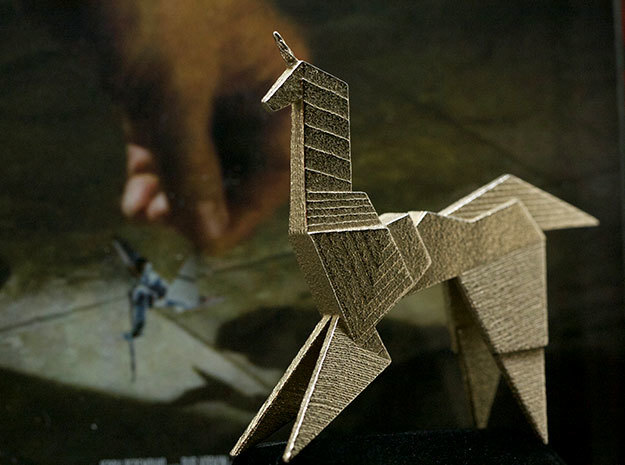 Gaff's Unicorn | Blade Runner Origami in Stainless Steel