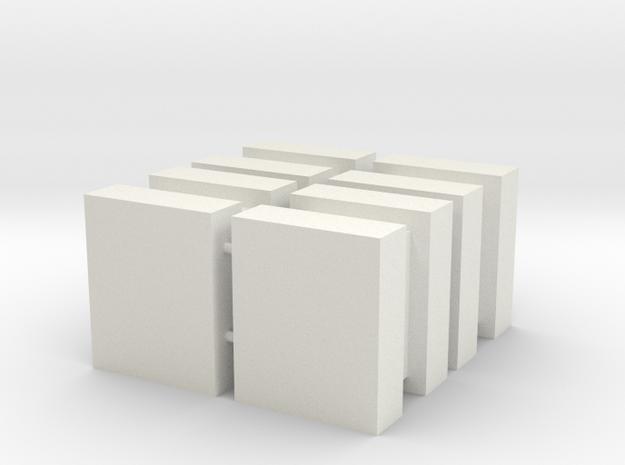 DeAgo Falcon Main Hold Cargo Boxes, 4 Large Boxes